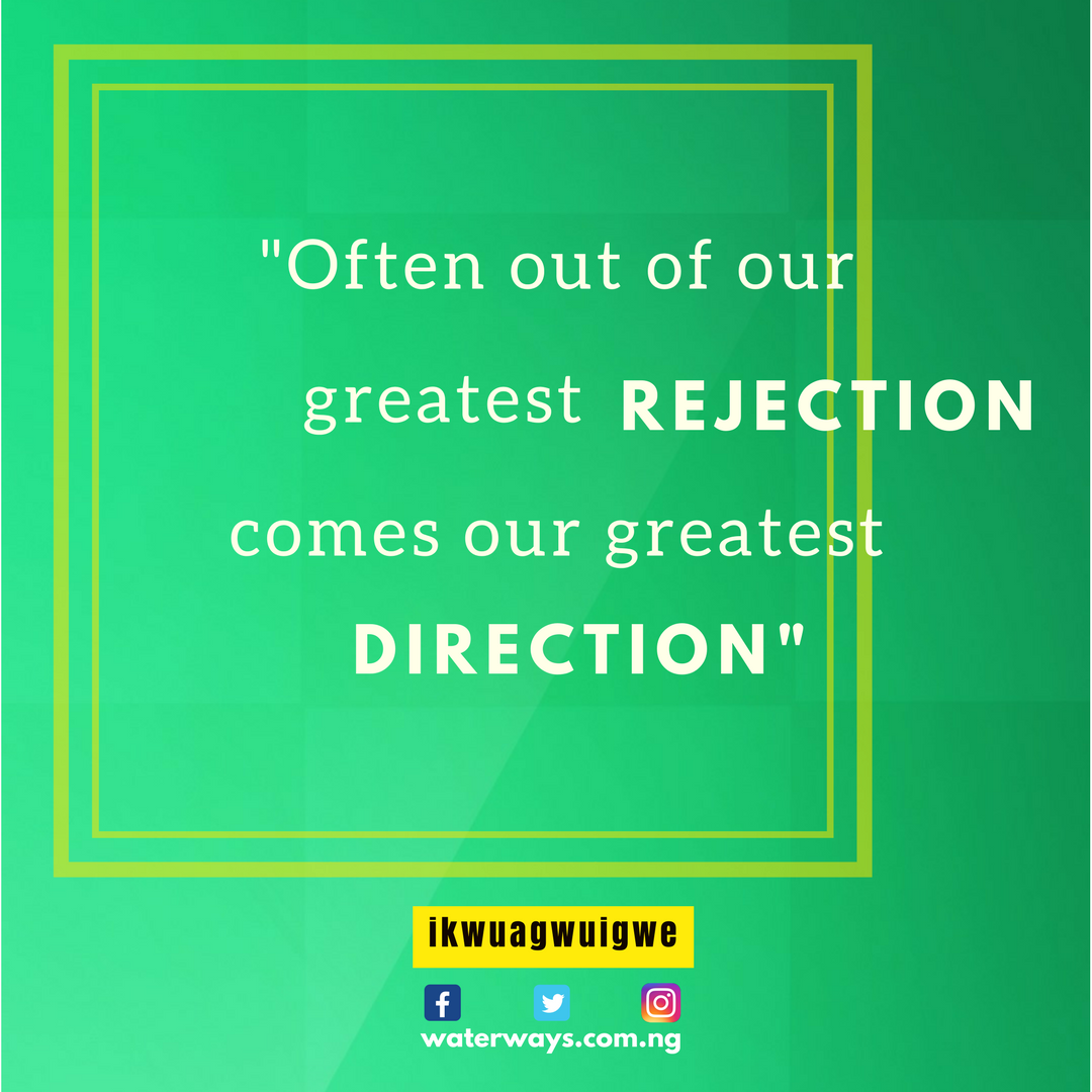 direction in rejection